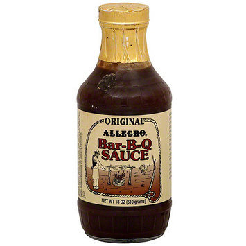 Allegro Original Bar-B-Q Sauce, 18 oz (Pack of 6)