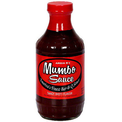 Argia B's Mumbo Sauce Tangy Bar-B-Q Sauce, 18 oz (Pack of 6)