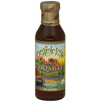 Organicville Tangy BBQ Sauce, 13.5 oz (Pack of 6)