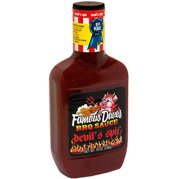 Famous Daves Famous Dave's Devil's Spit BBQ Sauce, 19 oz (Pack of 12)