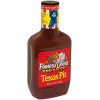 Famous Daves Famous Dave's Texas Pit BBQ Sauce, 19 oz (Pack of 12)