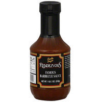 Rendezvous Charlie Vergos Memphis Original Famous Barbeque Sauce, 18 oz (Pack of 12)