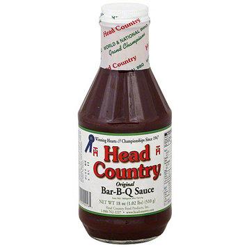 Head Country Bar-B-Q Sauce, 18 oz (Pack of 12)