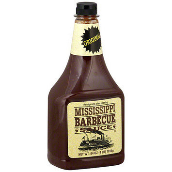 Mississippi Bbq Mississippi Barbecue Sauce Original BBQ Sauce, 64 oz (Pack of 9)