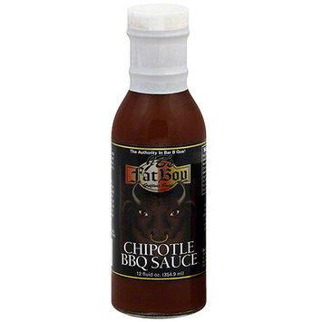 Jbs JB's Fat Boy Chipotle BBQ Sauce, 12 oz (Pack of 12)