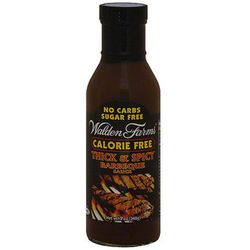 Walden Farms Thick & Spicy Barbeque Sauce, 12 oz (Pack of 6)