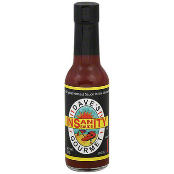 Daves Gourmet Dave's Gourmet Insanity Hot Sauce, 5 oz (Pack of 12)