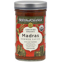 Seeds Of Change Madras With Hot Peppers, 12 oz (Pack of 6)