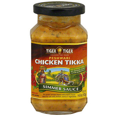 Tiger Tiger Chicken Tikka Simmer Sauce, 14.8 oz (Pack of 6)