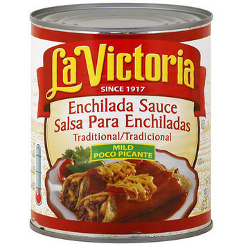 La Victoria Traditional Mild Poco Picante Enchilada Sauce, 28 oz (Pack of 12)
