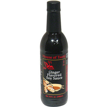 House Of Tsang Ginger Flavored Soy Sauce, 10 oz (Pack of 6)