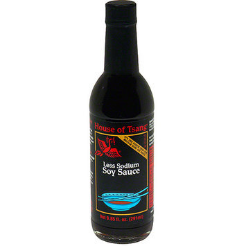 House Of Tsang Less Sodium Soy Sauce, 9.85 oz (Pack of 6)