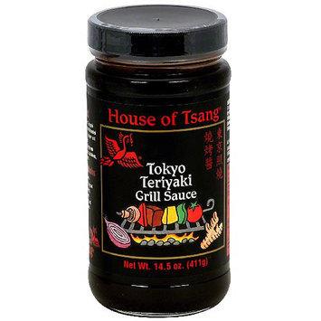 House Of Tsang Tokyo Teriyaki Grill Sauce, 14.5 oz (Pack of 6)