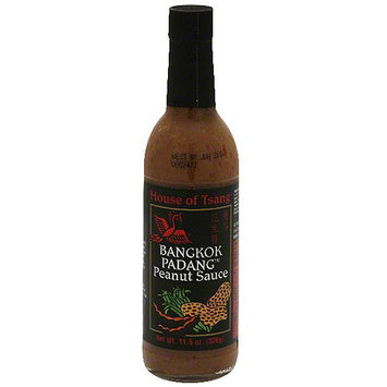 House Of Tsang Bangkok Padang Peanut Sauce, 11.5 oz (Pack of 6)