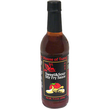 House Of Tsang Sweet & Sour Stir-Fry Sauce, 12 oz (Pack of 6)