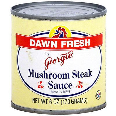 Dawn Fresh By Giorgio Mushroom Steak Sauce, 6 oz (Pack of 12)