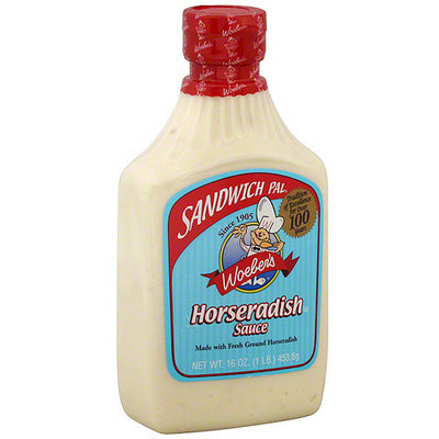 Sandwich Pal Horseradish Sauce, 16 oz (Pack of 6)