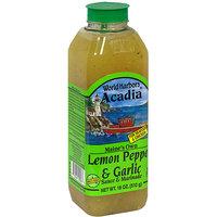 World Harbors Lemon Pepper with Garlic Marinade, 16 oz (Pack of 6)