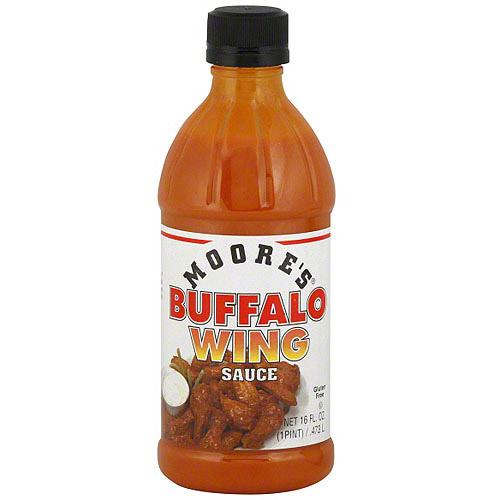 Moore's Buffalo Wing Medium Sauce, 16 oz (Pack of 6)