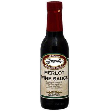 Braswell's Merlot Wine Sauce, 9.5 oz (Pack of 6)