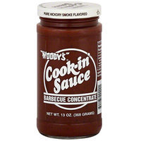 Woody's Pure Hickory Smoke Flavor Sauce, 13 oz (Pack of 6)