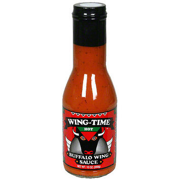 Wing-Time Buffalo Wing Hot Sauce, 13 oz (Pack of 6)