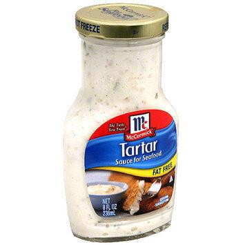 McCormick Fat Free Tartar Sauce, 8 oz (Pack of 6)
