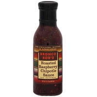 Bronco Bob's Roasted Raspberry Chipotle Sauce, 15.75 oz (Pack of 6)