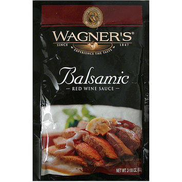 Wagner's Balsamic Red Wine Sauce Mix, 2.125 oz (Pack of 6)