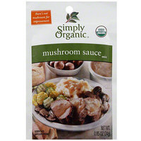 Simply Organic Mushroom Sauce Mix, 0.9 oz (Pack of 12)