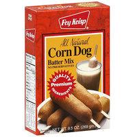 Fry Krisp Corn Dog Mix, 9.5 oz (Pack of 12)