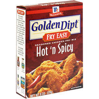 Golden Dipt Hot 'n Spicy Chicken Fry Mix, 8 oz (Pack of 12)