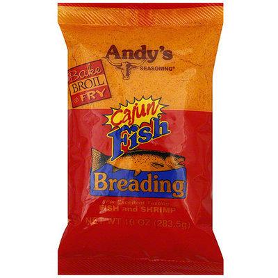 Andy's Seasoning Cajun Breading, 10 oz (Pack of 12)