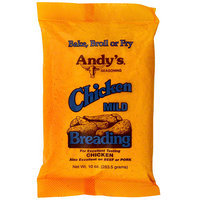 Andy's Seasoning Mild Chicken Breading, 10 oz (Pack of 12)