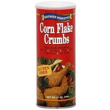 Southern Homestyle Corn Flake Crumbs, 12 oz (Pack of 6)
