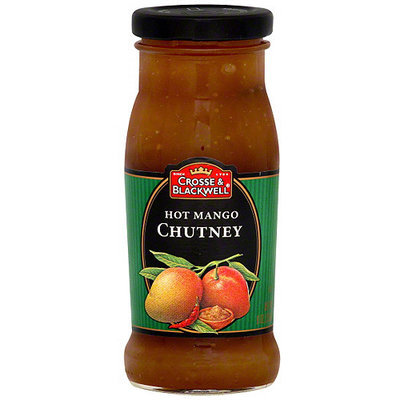 Crosse & Blackwell Hot Mango Chutney, 9 oz (Pack of 6)