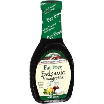 Maple Grove Farms Fat Free Balsamic Vinaigrette, 8 oz (Pack of 6)