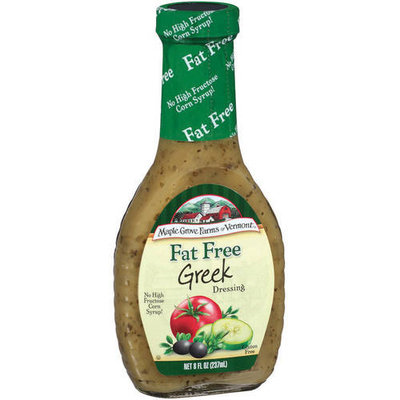 Maple Grove Farms Of Vermont Greek Dressing, 8 oz (Pack of 6)