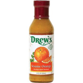 Drew's Sesame Orange Dressing, 12 oz (Pack of 6)