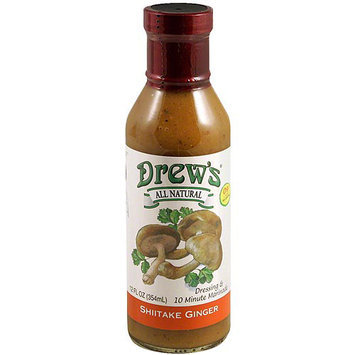 Drew's Shiitake Ginger Dressing, 12 oz (Pack of 6)