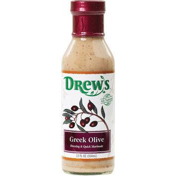 Drew's Greek Olive Dressing, 12 oz (Pack of 6)