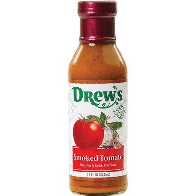 Drew's Smoked Tomato Dressing & Quick Marinade, 12 oz (Pack of 6)