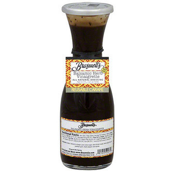 Braswell's Balsamic Herb Vinaigrette, 9 oz (Pack of 6)