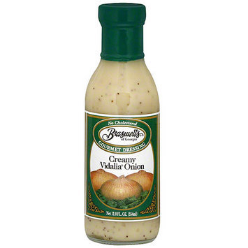 Braswell's Creamy Vidalia Onion Dressing, 12 oz (Pack of 6)