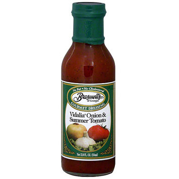 Braswell's Vidalia Onion & Summer Tomato Dressing, 12 oz (Pack of 6)