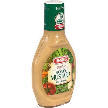 Henri's Honey Mustard Dressing, 16 oz (Pack of 6)