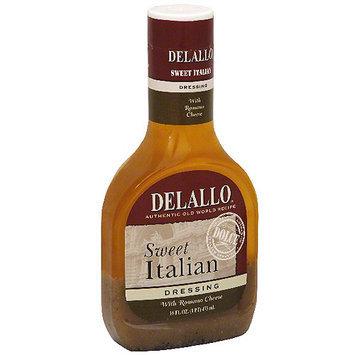 Delallo House Dressing, Sweet Italian, 16 oz. (Pack of 6)