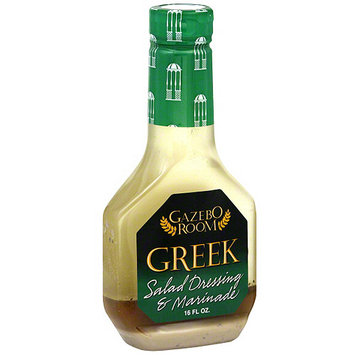 Gazebo Room Greek Salad Dressing & Marinade, 16 oz (Pack of 6)