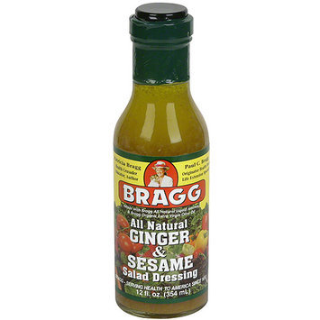Bragg Ginger & Sesame Salad Dressing, 12 oz (Pack of 6)