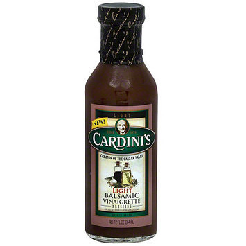 Cardini's Light Balsamic Vinaigrette, 12 fl oz (Pack of 6)
